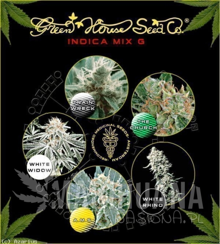 GREEN HOUSE SEEDS - Indica Mix G